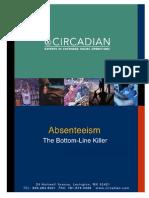 Absenteeism Bottom Line