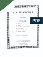 Blanchet - Op. 18 Turquie