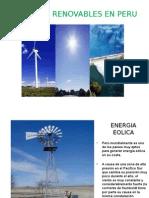 Energias Renovables en Peru
