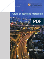 McBeary I. Study on the Future of Teaching Profession