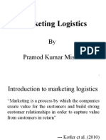1 Introduction to Marketing Logistics