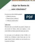 Manual Mecanica Automotriz Llantas Auto Relucientes