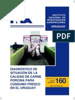 Uruguay 2006 Diagnóstico de Situación de La Calidad de Carne Porcina Para Consumo Fresco Echenique y Capra INIA