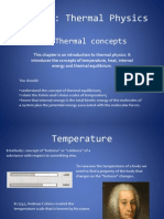 Thermal Concepts