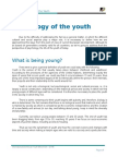 Psychology of the Youth - Theme 1