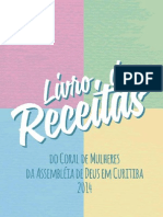 Caderno de Receitas_das Mulheres Da Assembleia de Deus de Curitiba