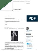El Arquitecto Impenitente_ Bruno Zevi, El Código Anticlásico y Los Architetti-Camerieri
