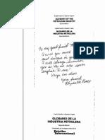 Glosario Ingles Espanol Petrolero - Pennwell