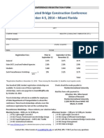 2014 ABC Conference Registration Form