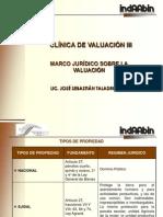 Marco Juridico Sobre Valuacion