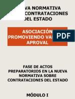 NUEVA NORMATIVA SOBRE CONTRATACIONES DEL ESTADO.ppt