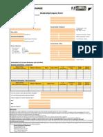 Dealership Enquiry Form