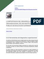 Herramientas de Diagnostico Organizacional