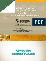 Daños y Soluciones en Salud en Situaciones de Desastre Ambiental