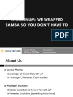 DEFCON 22 Lucas Morris Michael McAtee ShareEnum We Wrapped Samba