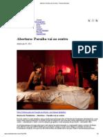 Abertura_ Paraíba Vai Ao Centro - Revista Interlúdio