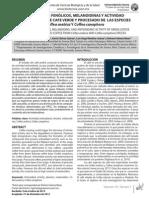 Compuestos Fenólicos, Melanoidinas y Actividad Café Sonora
