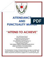 Attendance and Punctuality Matter Booklet