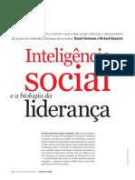 Inteligência Social e a Biologia Da Liderança