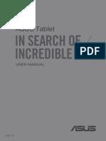 Asus Fonepad 7 Manual