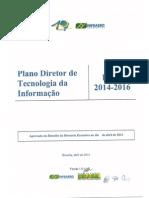 Pdti Infraero 2014-2016
