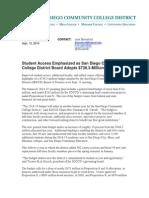 SDCCD Budget