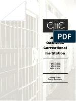 State report on Allen Oakwood Correctional Institution