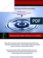 Advancement Best Practices That Work