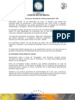 """22-09-2010 El Gobernador Guillermo Padrés informó que se han tomado todas las previsiones y están preparados para hacer frente a cualquier situación de emergencia que pueda presentarse por la llegada de """"Georgette"""". B091093"""
