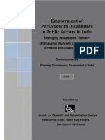 2008 Planning Commission Report on PwD Employment