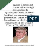 Camilleri Quasi Opera Omnia