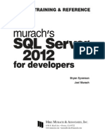 Murach SQL Server 2012 for Developers v413hav