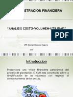 Analisis Costo - Volumen - Utilidad - Prof Moscoso