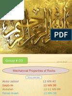 Mechanical Properties of Rocks,,....