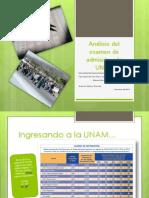 Análisis Del Examen de Admisión a La UNAM
