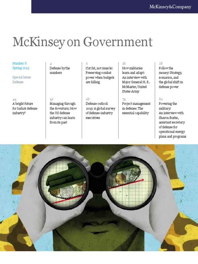 McKinsey on Defense 2013 | Military | Procurement