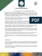 22-09-2010 El Gobernador Guillermo Padrés firmó un convenio de colaboración con los líderes del SNTE sección 54 y SUTSPES. B091094