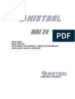 Mistral MBI 24 Instructiuni Instalare Si Utilizare