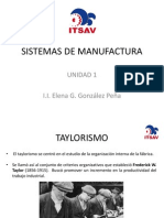 Sistemas de Manufactura Unidad 1