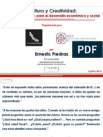 EPiedras- Cultura y Creatividad-Insumos Esenciales Para Desarrollo Economico-Veracruz v03
