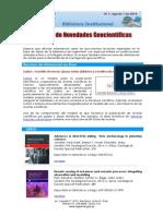 Boletín N°7, 1 de agosto 2014