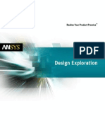 Ansys Design Exploration 14.0