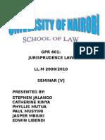 Seminar 5 Justice