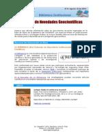 Boletín N°8, 15 de agosto 2014