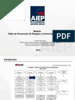 Taller de Prevencion de Riesgos y Control de Emergencias - 2014 - I PArte Unidad I