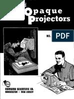 Opaque Projectors