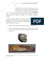 Historia de La Geologia