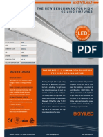 Baiyiled Lsa led High Ceiling Luminaire Flyer En