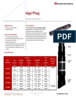 Composite Bridge Plug Technical Datasheet