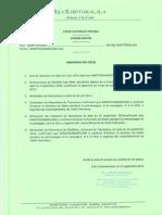 Deuxième dossier déposé - Belo sur Tsiribihina - Saory Christian - Rija Rakotomalala
